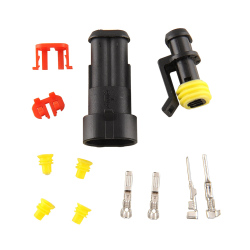 Aukey 10 Kits 2 Pin Way Waterproof Electrical Wire Connector