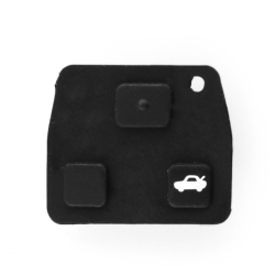 Aukey 3 Buttons Car Auto Remote Key Fob Pad Replacement