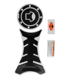 Aukey Carbon Motorcycle Tank Protector Sticker + Gas Cap For Honda