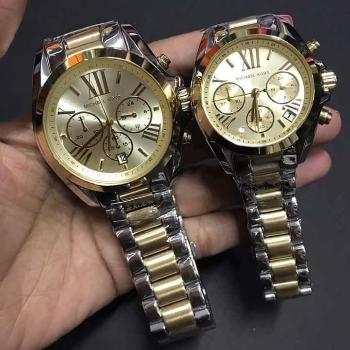 Authentic Michael Kors Womens Watch/Two Tone