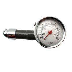 Auto Metal Truck Racing Car Tire Air Pressure Gauge F