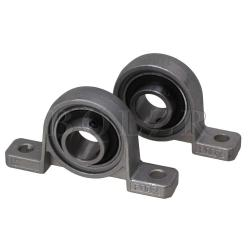 Ball Bearing Pillow Block Mounted Support Set of 2