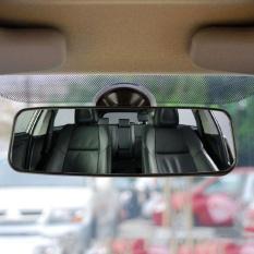 Belle Car Rear Mirror Wide-Angle Convex Curve Interior Rear View Mirror With Sucker - Intl By Bellelove.