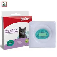 Bioline Cat Collar Flea And Tick Collar For Cats (green) By Dreamwest Corporation.