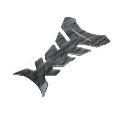 Black Carbon Fiber New Motorcycle Tank Pad Sticker