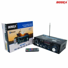 Bosca Bs-903 Hi-Fi Stereo Audio Power Amplifier 350w+350w With Bluetooth Bk 0124 By Stylebox.