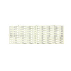 Bow Wow Plastic Floor Mat For Dogs Classic White 900 X 300 X 30 Mm By Handyman.