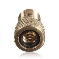 Brass Presta Valve To Schrader Pump Adaptor Tyre Valve Converter