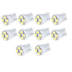 Buytra Car LED Indicator Light 12V Set of 10 (White)