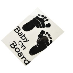 Buytra Car Safty Sticker Baby on Board