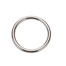 Buytra Charm Hinged Segment Ring Titanium Septum Clicker Piercing Nose Lip Ear Ring Silver