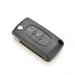 Buytra Key Fob Shell Remote for CITROEN Peugeot C4 C5 C6 C8