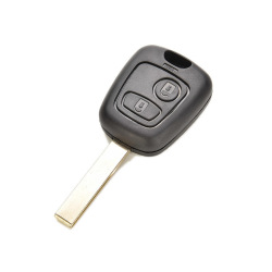 Buytra Key Shell Remote Blank For Peugeot 107 307 407 C2
