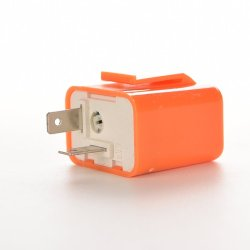 Buytra LED Flasher Relay Adjustable 2-Pin 12v