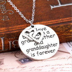 ... Pendant I Love You Grandma Daftar Harga Source · Buytra Love Between Grandmother And Granddaughter Necklace Fashion Heart Family Jewelry