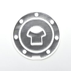 Buytra Oil Gas Tank Protector Pad Universal Carbon Fiber - Intl By Buy Tra.