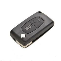 Buytra Remote Flip Key Shell Plasticfor Peugeot 207 307 308