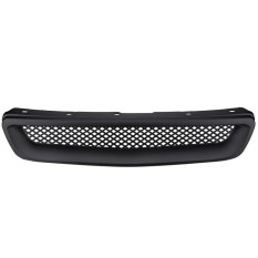 Car Abs Front Hood Mesh Bumper Grille For Honda Civic Jdm Type R 1996-1998 - Intl By Duoqiao.