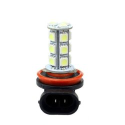 Car Day Fog Head light Lamp H11 H8 18 SMD Set of 2