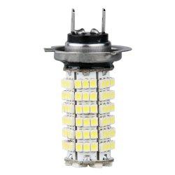 Car  H7 3528 SMD 120 LED White Fog Light Bulbs Lamp (Intl)