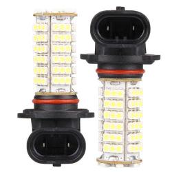 Car HB4 9006 LED Fog Day Light Bulb White 2pcs