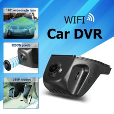 Car Hidden HD 1080P WIFI DVR Vehicle Camera Video Recorder Dash Cam Night Vision - intl