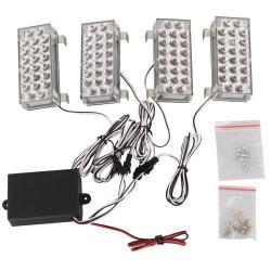 Car LED Strobe Light 88pcs