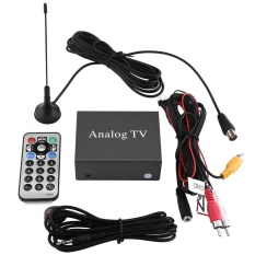 Car Mobile Dvd Tv Receiver Analog Tv Tuner Strong Signal Box With Antenna Remote Controller - Intl By Qilu.