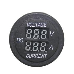 Car Motorcycle Digital Ammeter +Voltage Meter