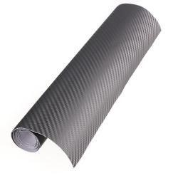 Carbon Fibre Vinyl (Grey)