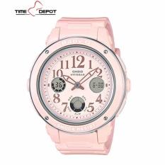 35b775d32b1 Casio Baby-G Women s Analog Digital Pink Resin Strap Watch BGA-150EF-4BDR