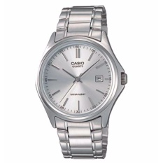 Casio Enticer Men Silver Stainless Steel Strap Watch MTP-1183A-7A