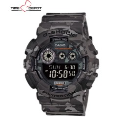 Casio G-Shock Camouflage Gray Resin Strap Watch  GD-120CM-8DR