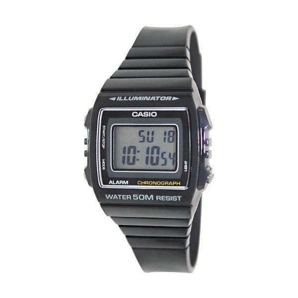 Casio Kids' W-215H-1AVDF Black Resin Watch - thumbnail