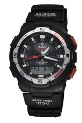 Casio Men's Black Band Watch SGW500H-1B