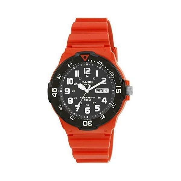 Casio Men's Core MRW200HC-4BV Red Plastic Quartz Watch product preview, discount at cheapest price