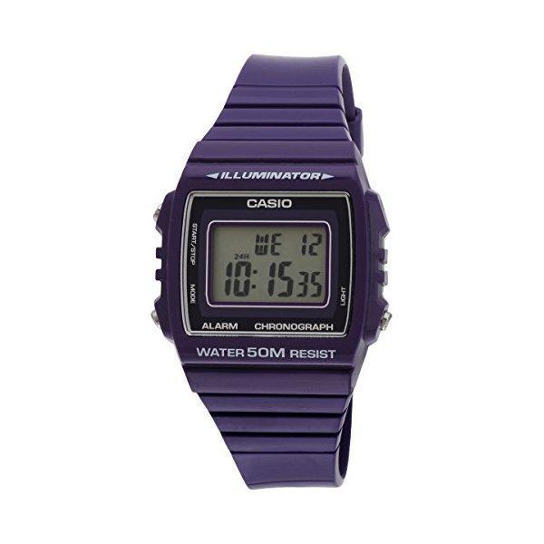 Casio Unisex Illuminator Purple Resin Chronograph product preview, discount at cheapest price