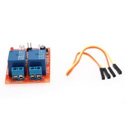 Channel Light Sensor Relay Module with Cable DC 5V 2