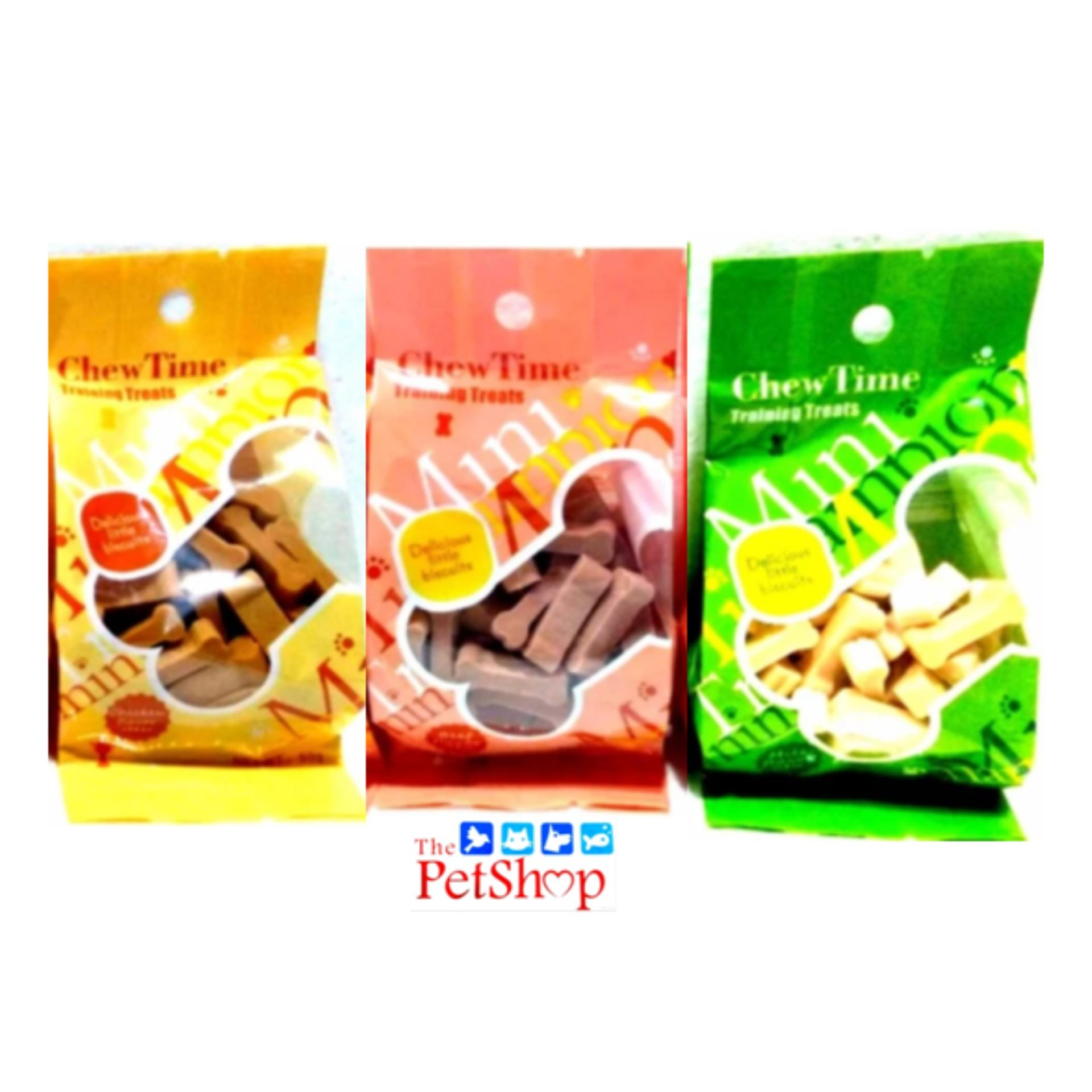 Chew Time Training Treats 50g Assorted By Thepetshop.
