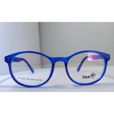 Childrens Eyeglass Frame - Crystal Blue (7-10 Years Old) By Rx Frames.