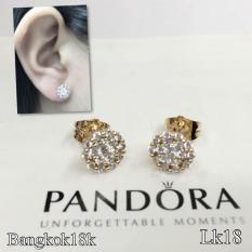 Saudi Gold 18k Christha S Collection Online Boutique Pe Pandora Andrea Flower Bangkok Stud Earrings With