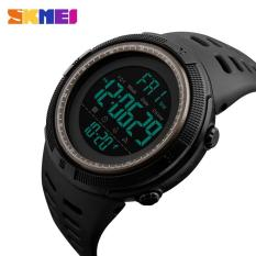 Chronograph Sports Watches Men Double Time Countdown LED Digital Watch Military Alarm Waterproof Wristwatch 1251