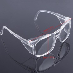 Clear Safety Work Lab Goggles Eyewear Glasses Eye Protective Anti Fog Spectacles - intl