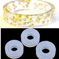 Clear Silicone Molds For Making Jewelry Ring DIY Mold 3D Resin Casting Tool - 17mm -