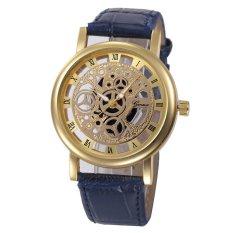 CocolMax Womens Hollow Analog Quartz Stainless Steel Wrist Watch Watches - intl