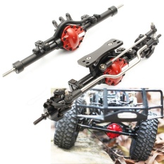 Complete Alloy Front & Rear Axle Set For 1:10 Rc Rock Crawler D90 Scx10 Rc4wd - Intl By Autoleader