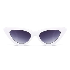 ab93b13988a54 Cute Sexy Retro Cat Eye Sunglasses Women Small Black White 2018  FashionTriangle Vintage Cheap Sun Glasses