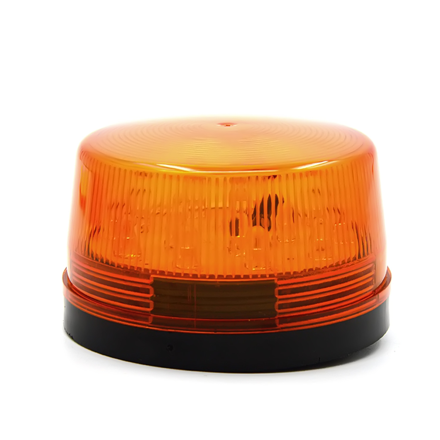 DC 12V 30mA Plastic Alarm Strobe LED Light Siren Orange product preview, discount at cheapest price