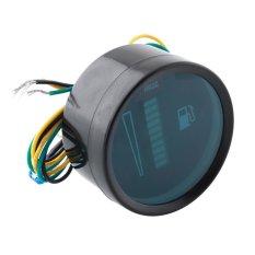 Universal Car Motor Motorcycle 52mm Fuel Meter LED Digital Level Gauge
