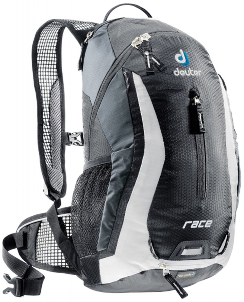 Deuter Race Backpack (Black/White) - thumbnail